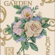 Dimensions 35143 Rose Garden Cuttings